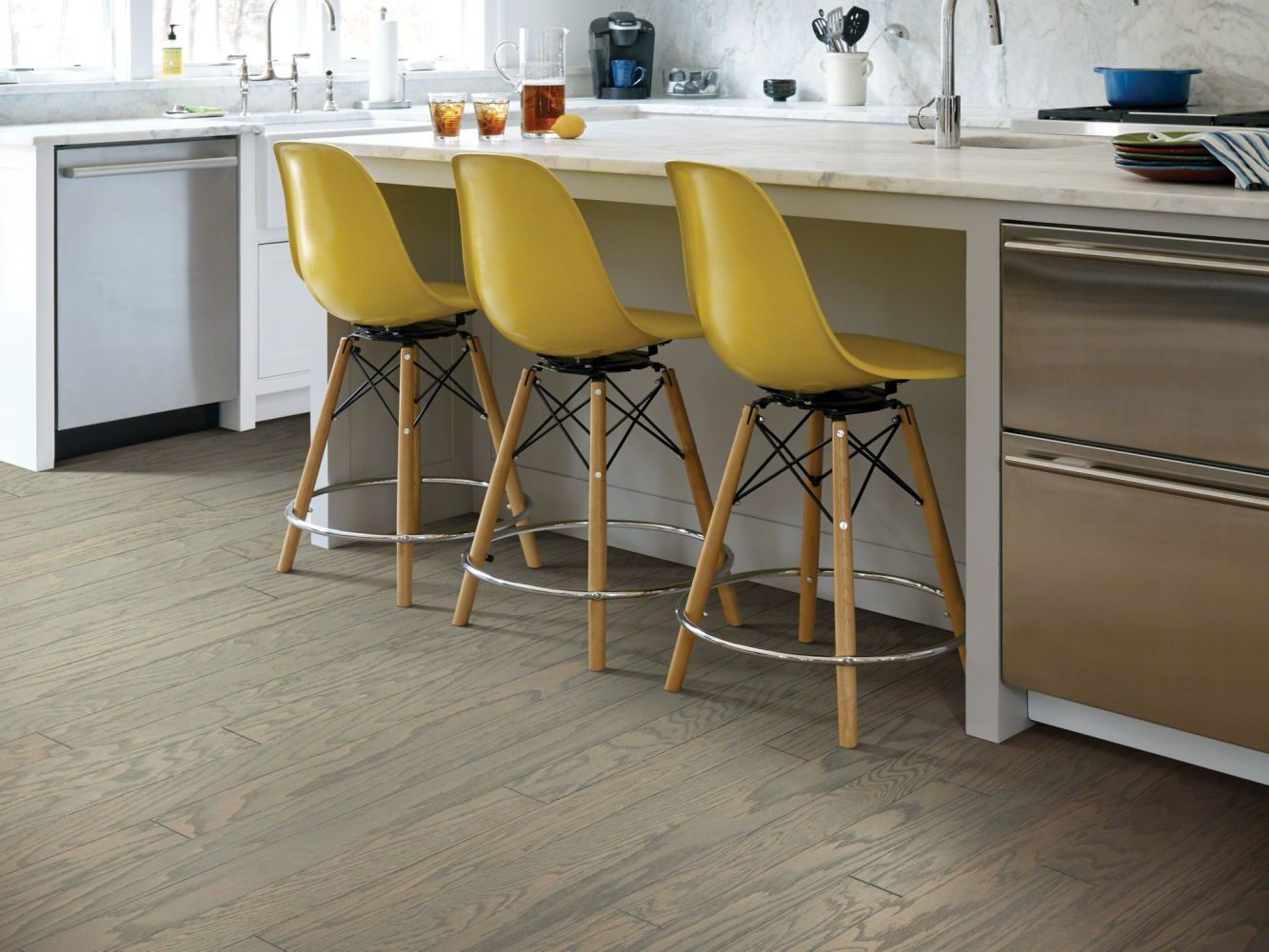Shaw Floors Duras Hardwood All In II 3.25 Weathered 00543_HW581