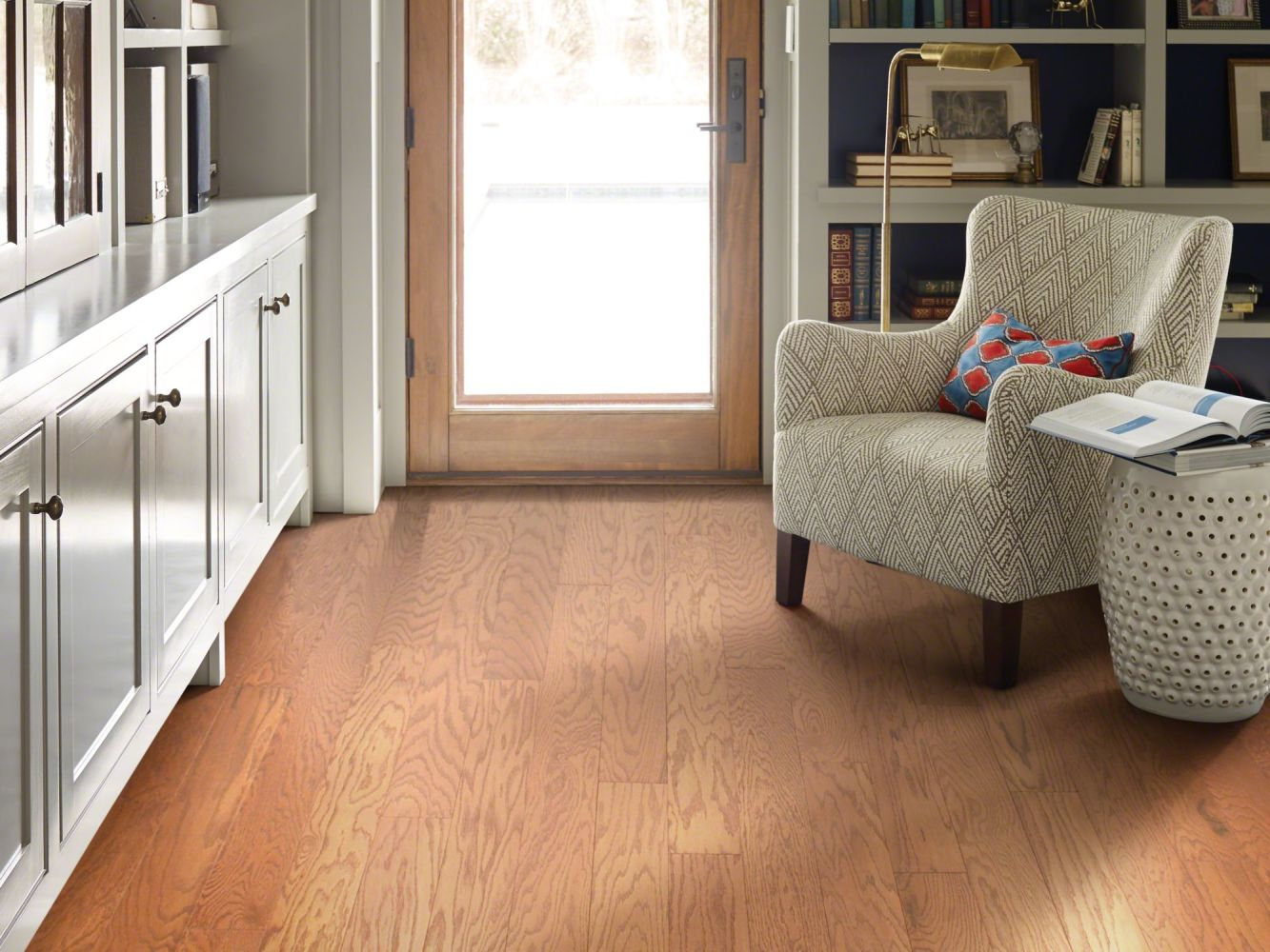 Shaw Floors Duras Hardwood All In II 5 Gunstock 00780_HW582