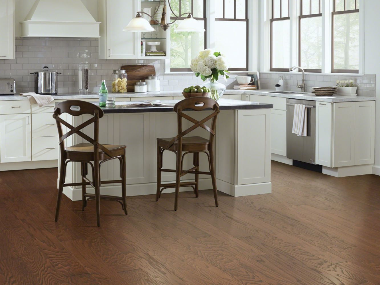 Shaw Floors Duras Hardwood All In II 5 Hazelnut 00874_HW582