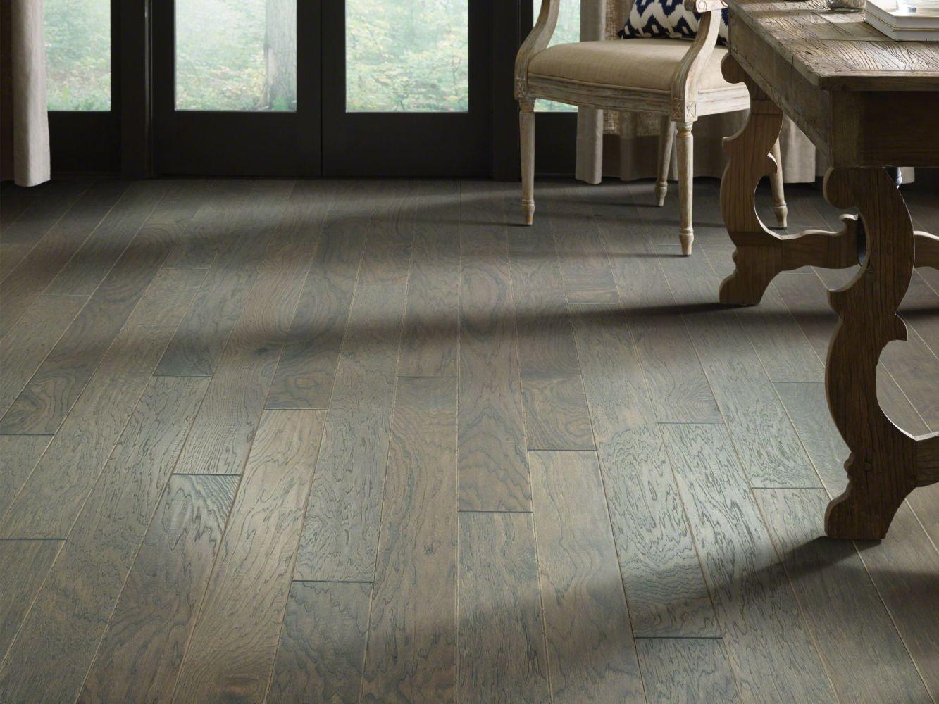 Shaw Floors Duras Hardwood Gallatin Hickory Slate 05039_HW592