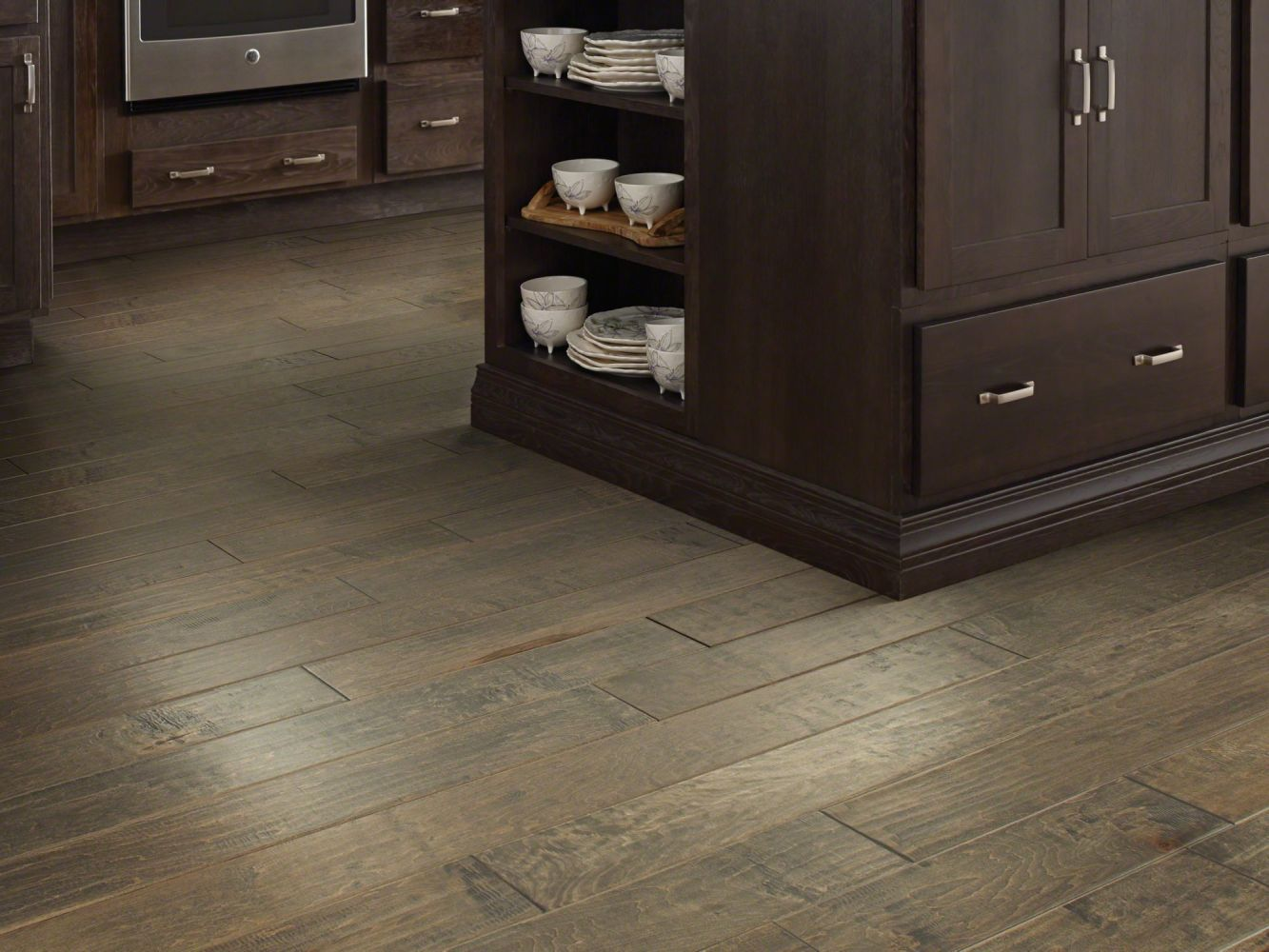 Shaw Floors Home Fn Gold Hardwood Mackenzie Maple 2 -5″ Timberwolf 05002_HW604