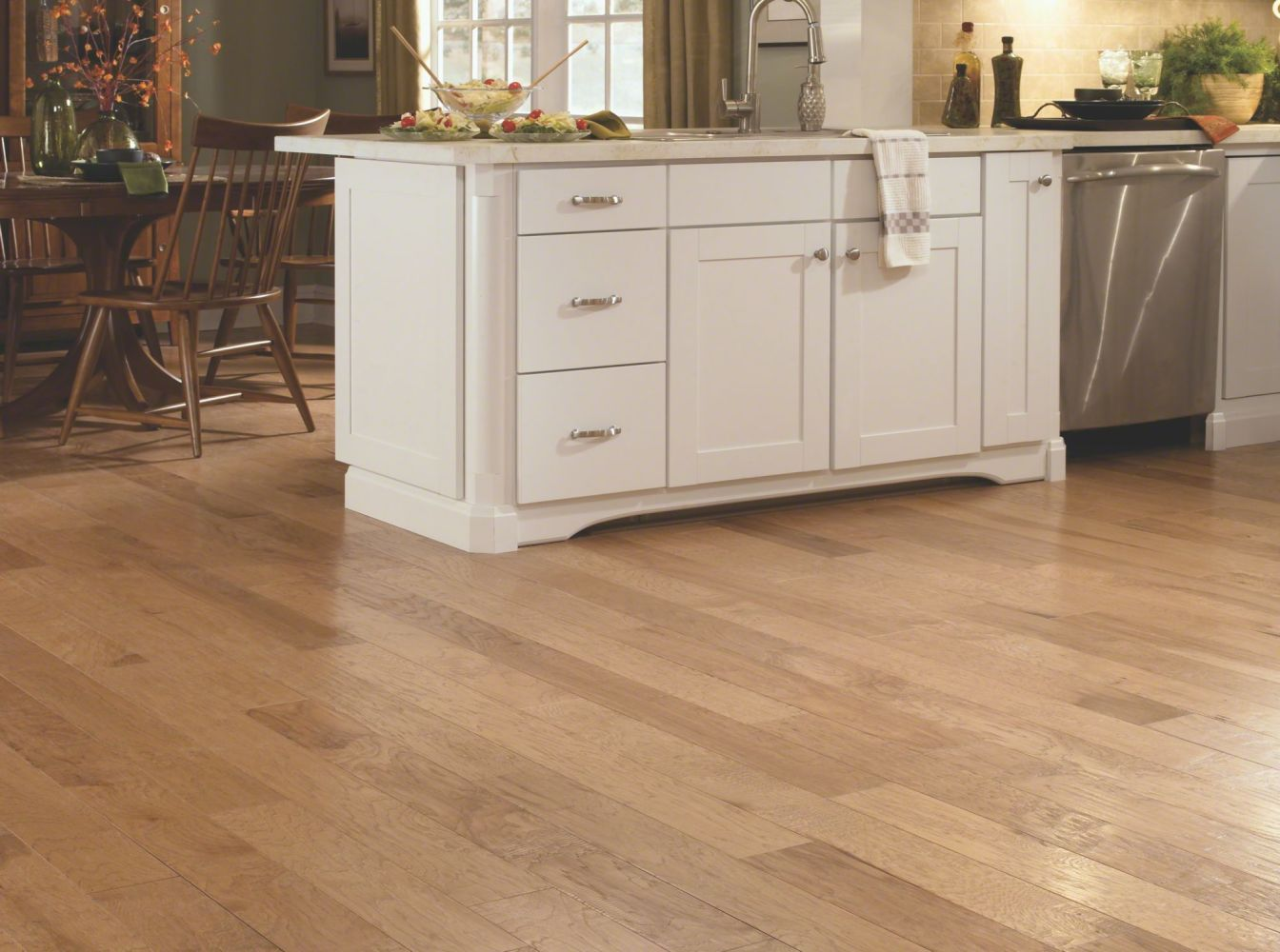 Shaw Floors Home Fn Gold Hardwood Nottoway Hickory II – 5″ Prairie Dust 00144_HW612