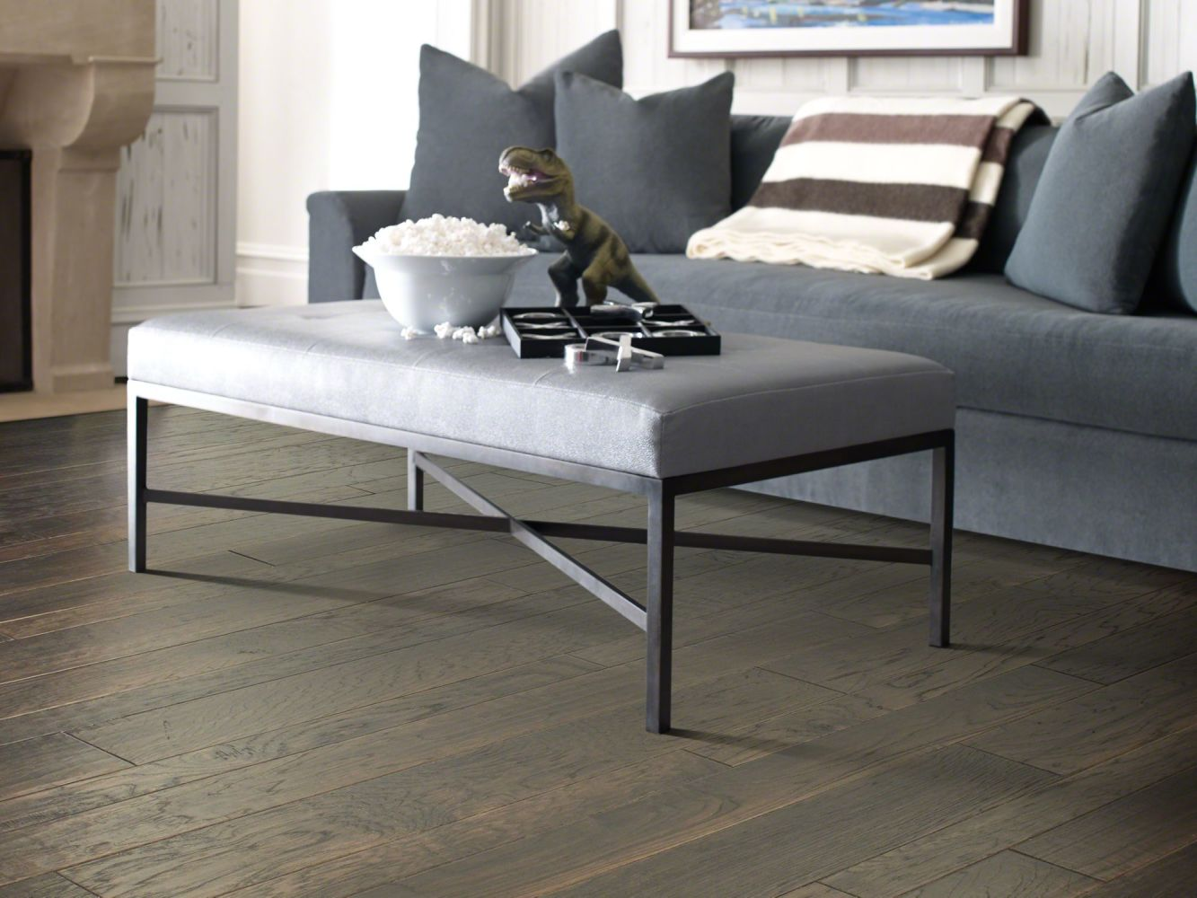 Shaw Floors Home Fn Gold Hardwood Leesburg 2 – Mixed Stonehenge 00510_HW619