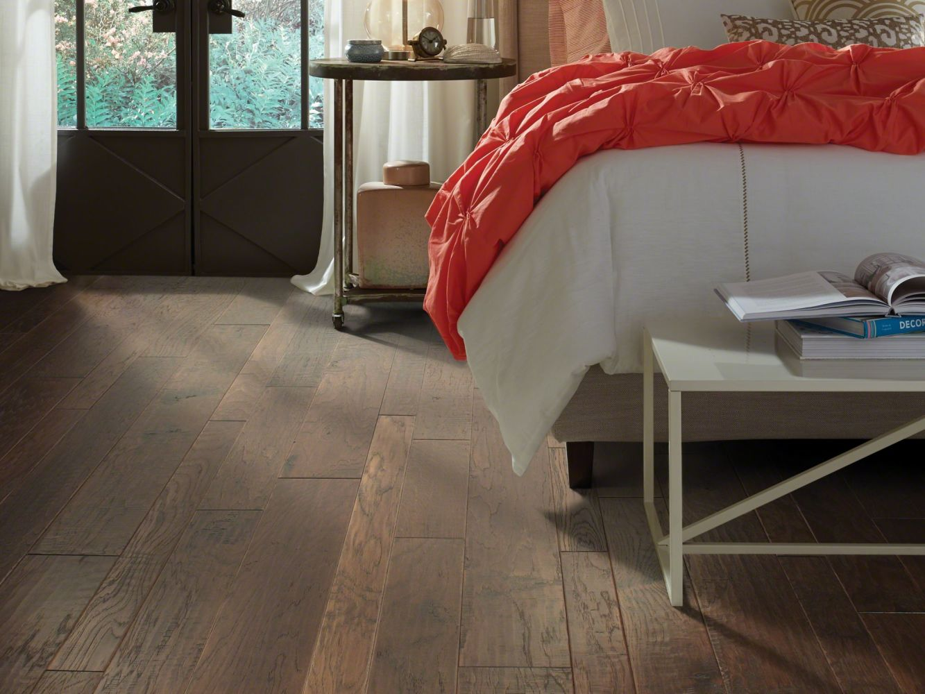 Shaw Floors Home Fn Gold Hardwood Leesburg 2 – Mixed Weathered Saddle 00941_HW619