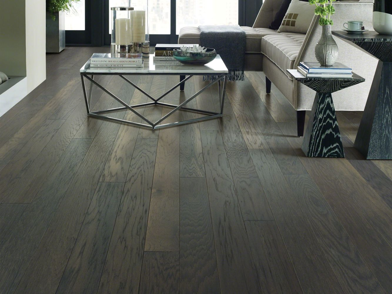 Shaw Floors Home Fn Gold Hardwood Campbell Creek Brushed Sable 09022_HW670