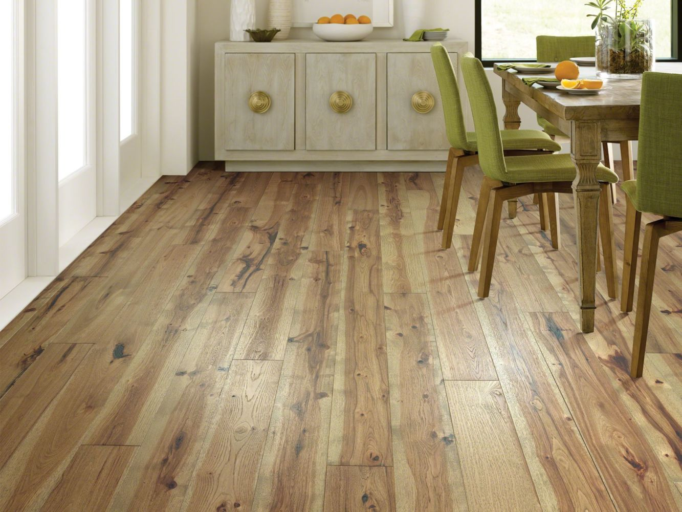 Shaw Floors Duras Hardwood Impressions Hickory Radiance 07036_HW673