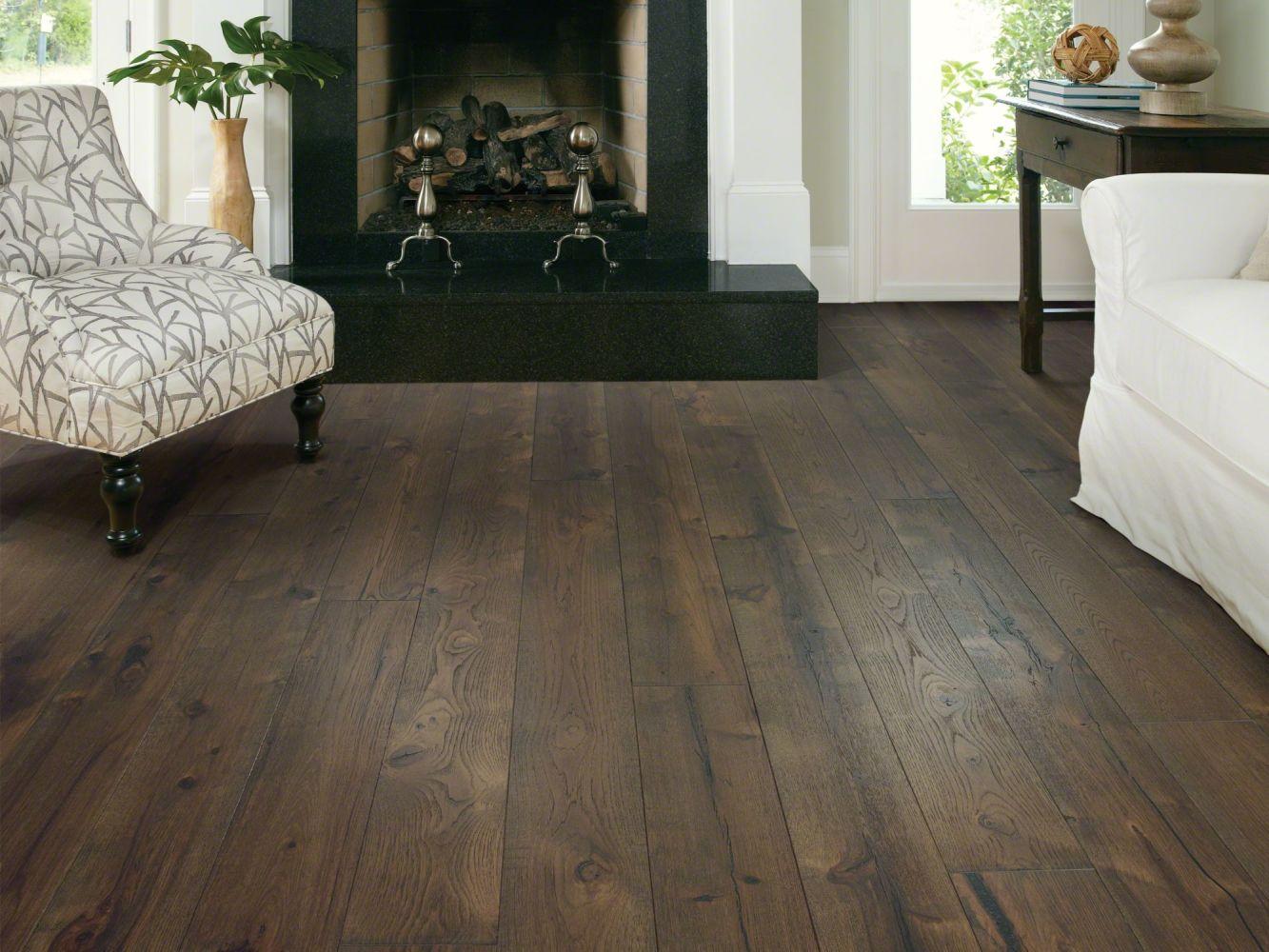 Shaw Floors Duras Hardwood Impressions Hickory Majestic 09023_HW673