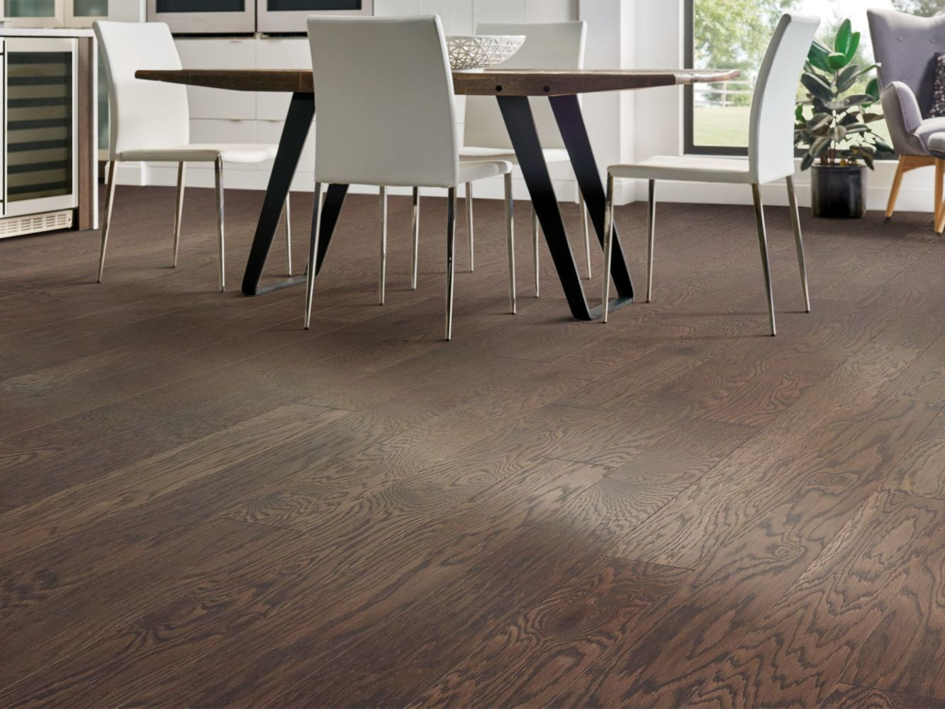 Shaw Floors Home Fn Gold Hardwood Pillar Oak Shale 07051_HW705