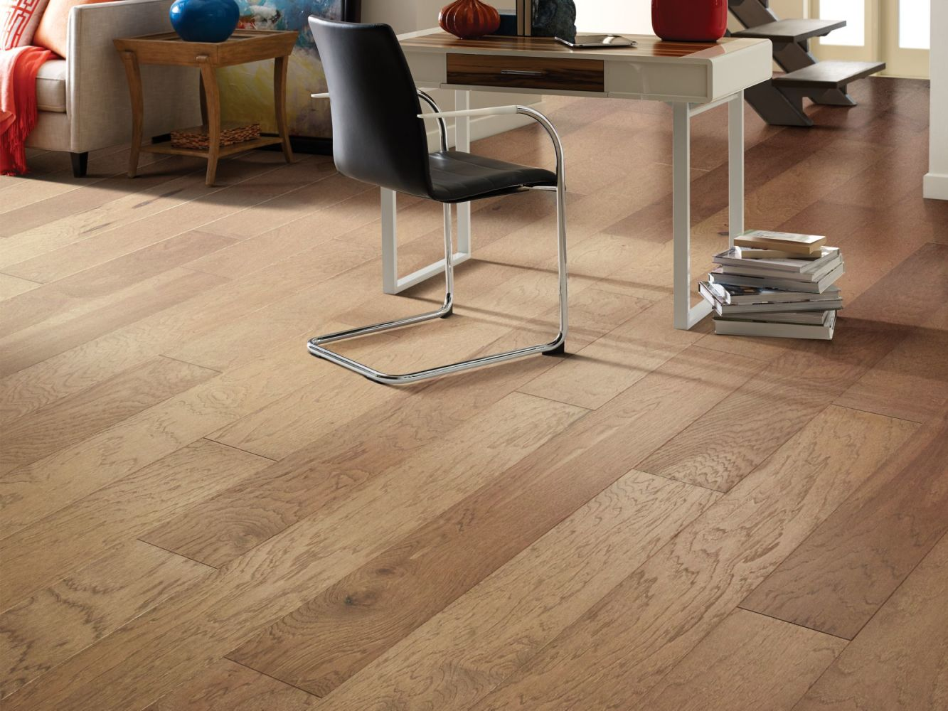 Shaw Floors Home Fn Gold Hardwood Piedmont Hickory Red Clay 02054_HW710
