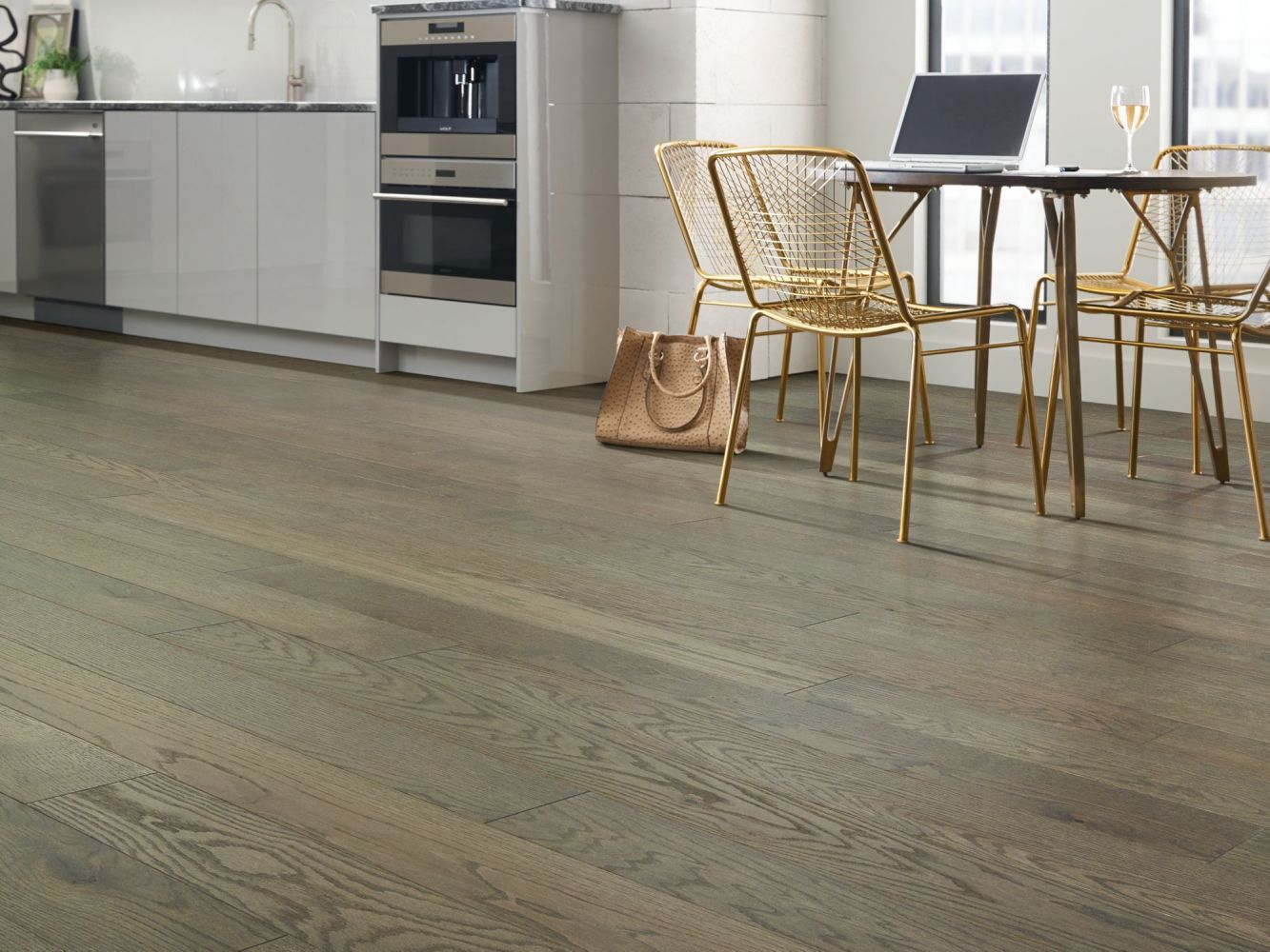 Shaw Floors Home Fn Gold Hardwood Oasis Oak Hearth 05093_HW714
