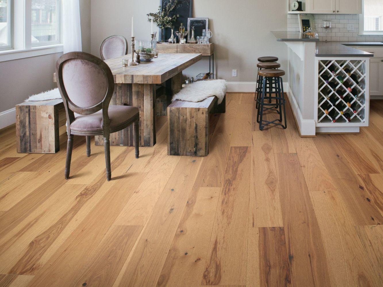 Shaw Floors Home Fn Gold Hardwood Oasis Hickory Repose 02060_HW715