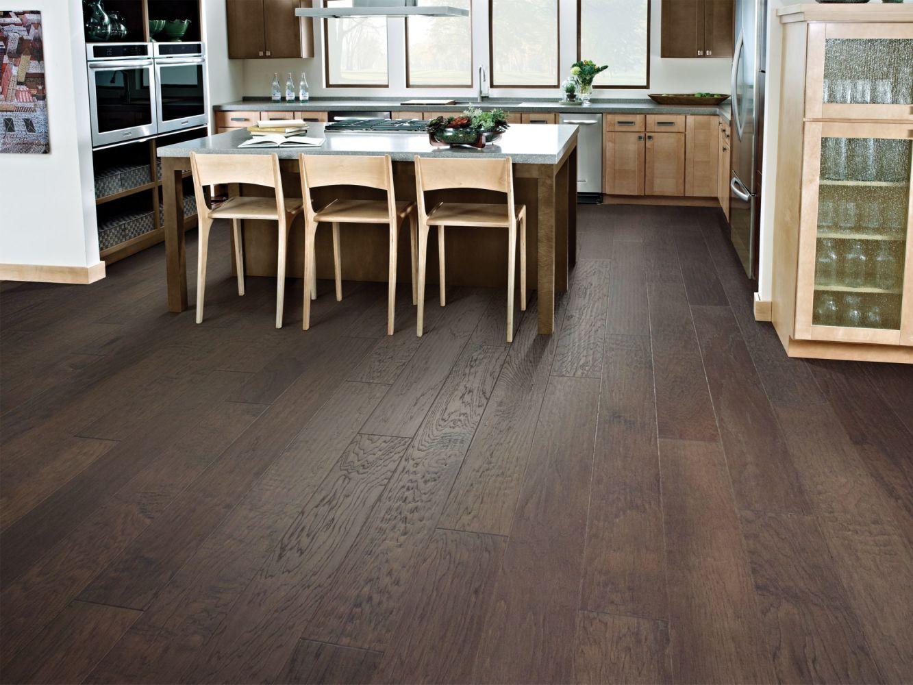 Shaw Floors Home Fn Gold Hardwood Wayward Hickory 6 3/8″ Pumice 07073_HW717