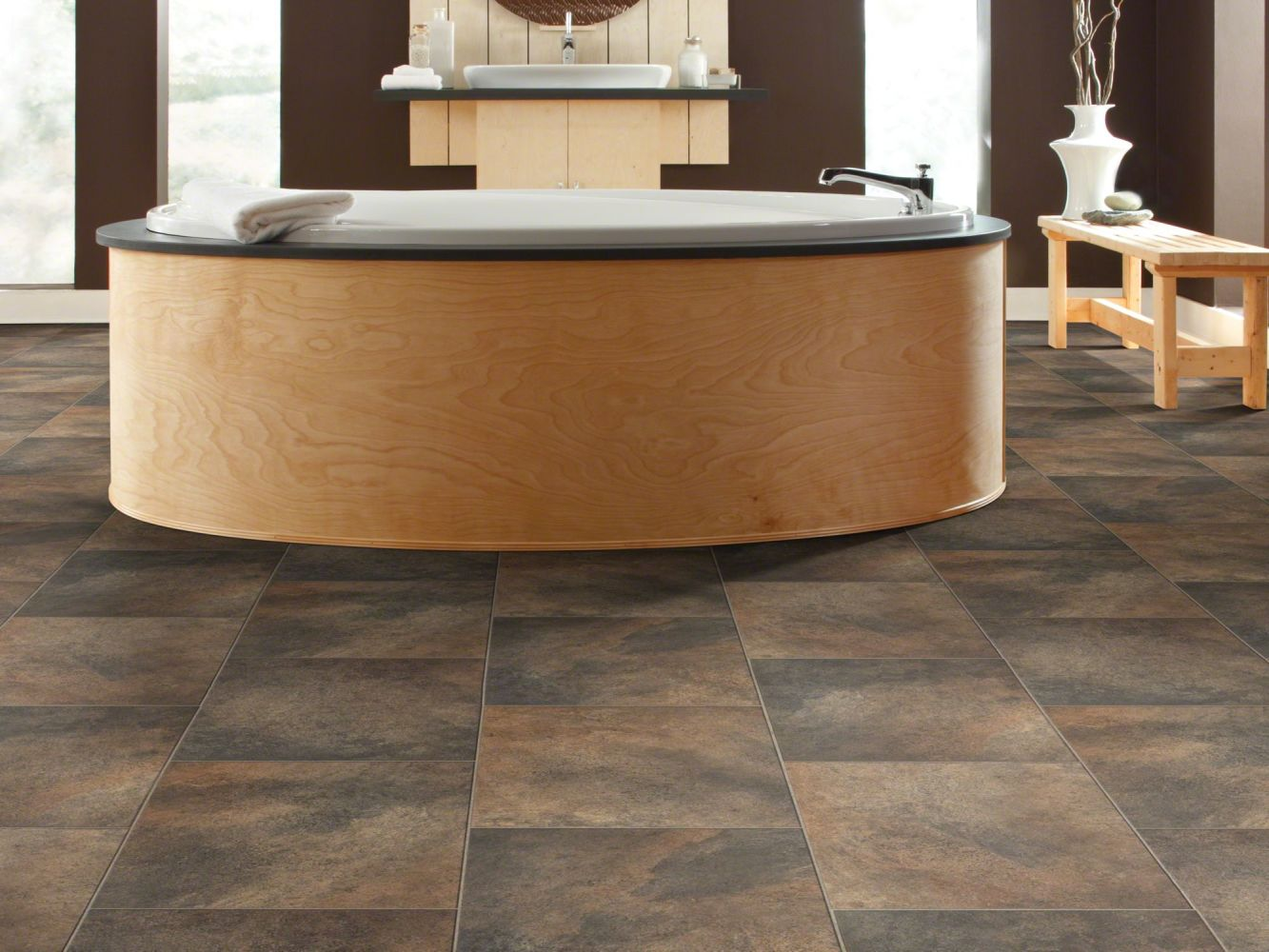 Shaw Floors Resilient Residential Olympian Ripe Olive 00761_SA386