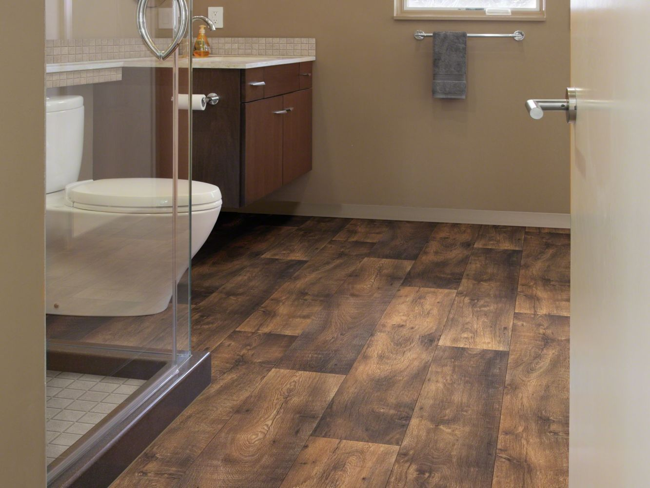 Shaw Floors Resilient Residential Olympian Vineyard Brown 00762_SA386
