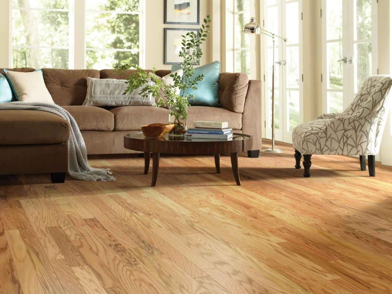 Shaw Floors SFA Archway Oak Rustic Natural 00143_SA480