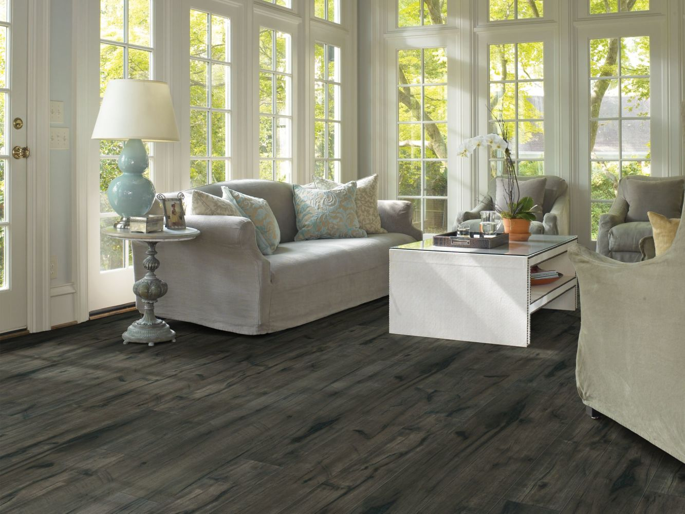 Shaw Floors SFA Harbour Towne Plus Midnight Hickory 09001_SA598