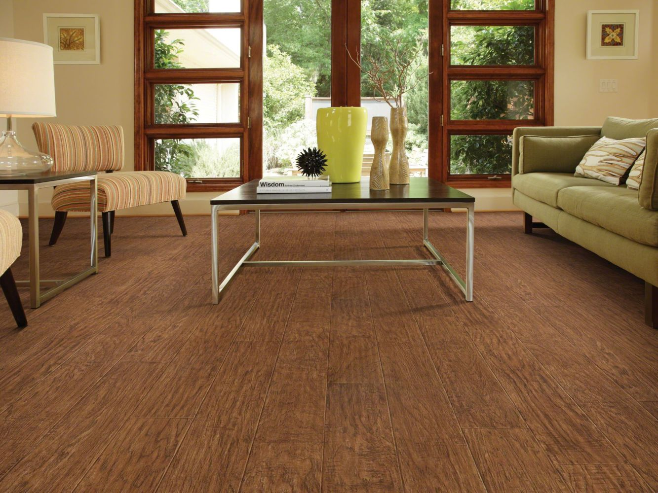 Shaw Floors Resilient Residential Plateau Hearthboard 00804_SA605