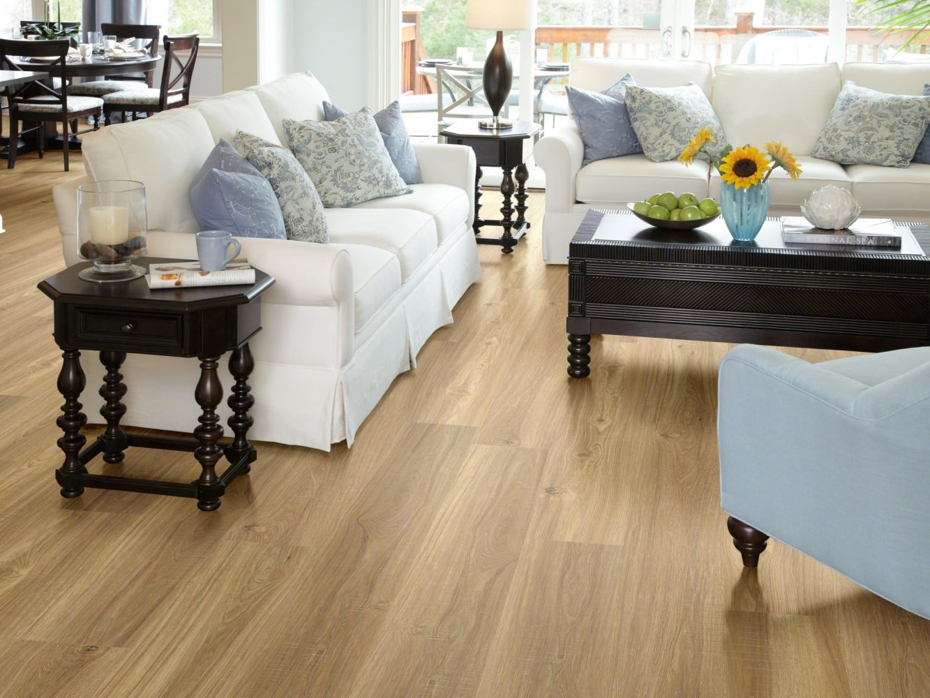Shaw Floors SFA Cornerstone Plank Mellow Oak 00109_SA629