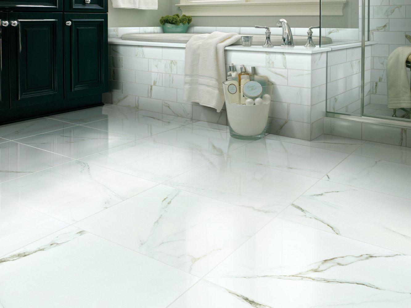 Shaw Floors SFA Vision 12×24 Polish Calacatta 00121_SA955