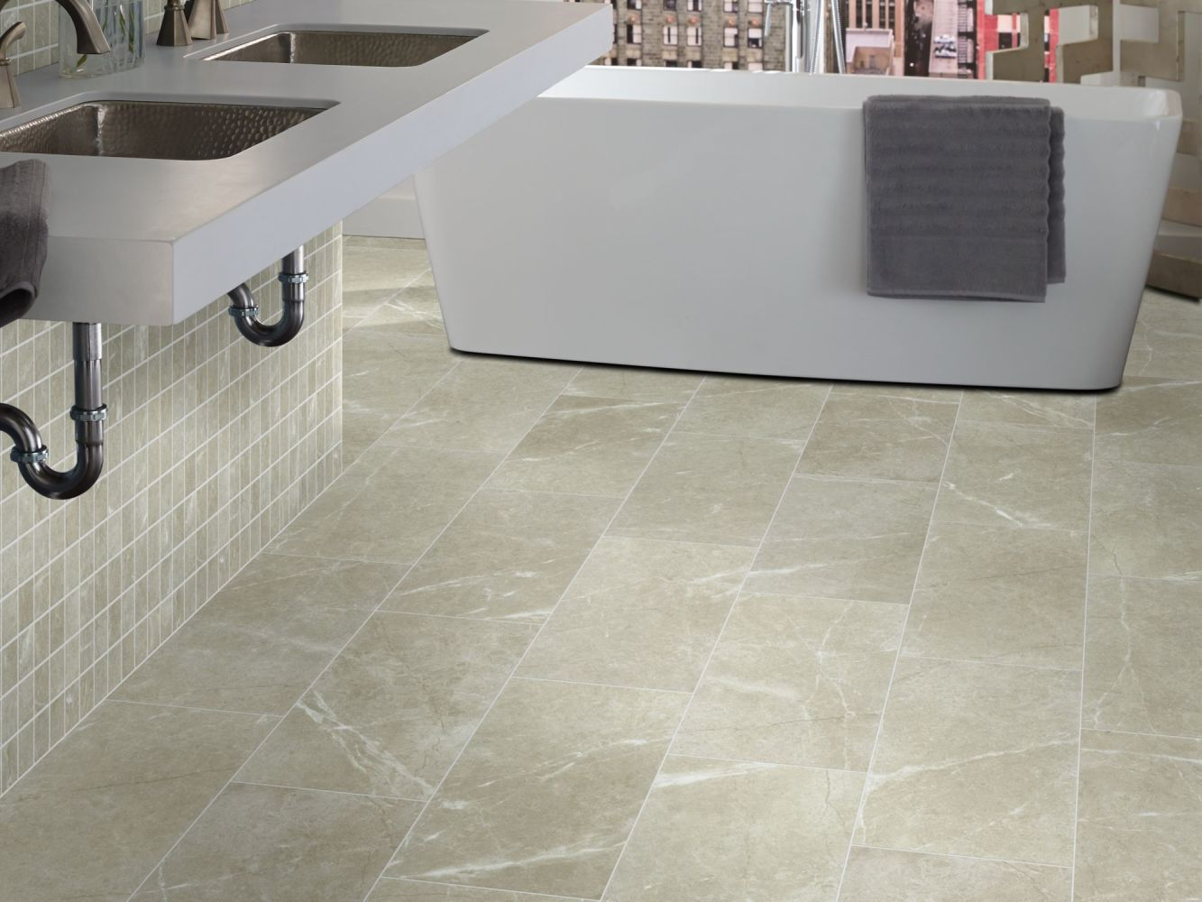 Shaw Floors SFA Mirage 12×24 Oasis 00501_SA973