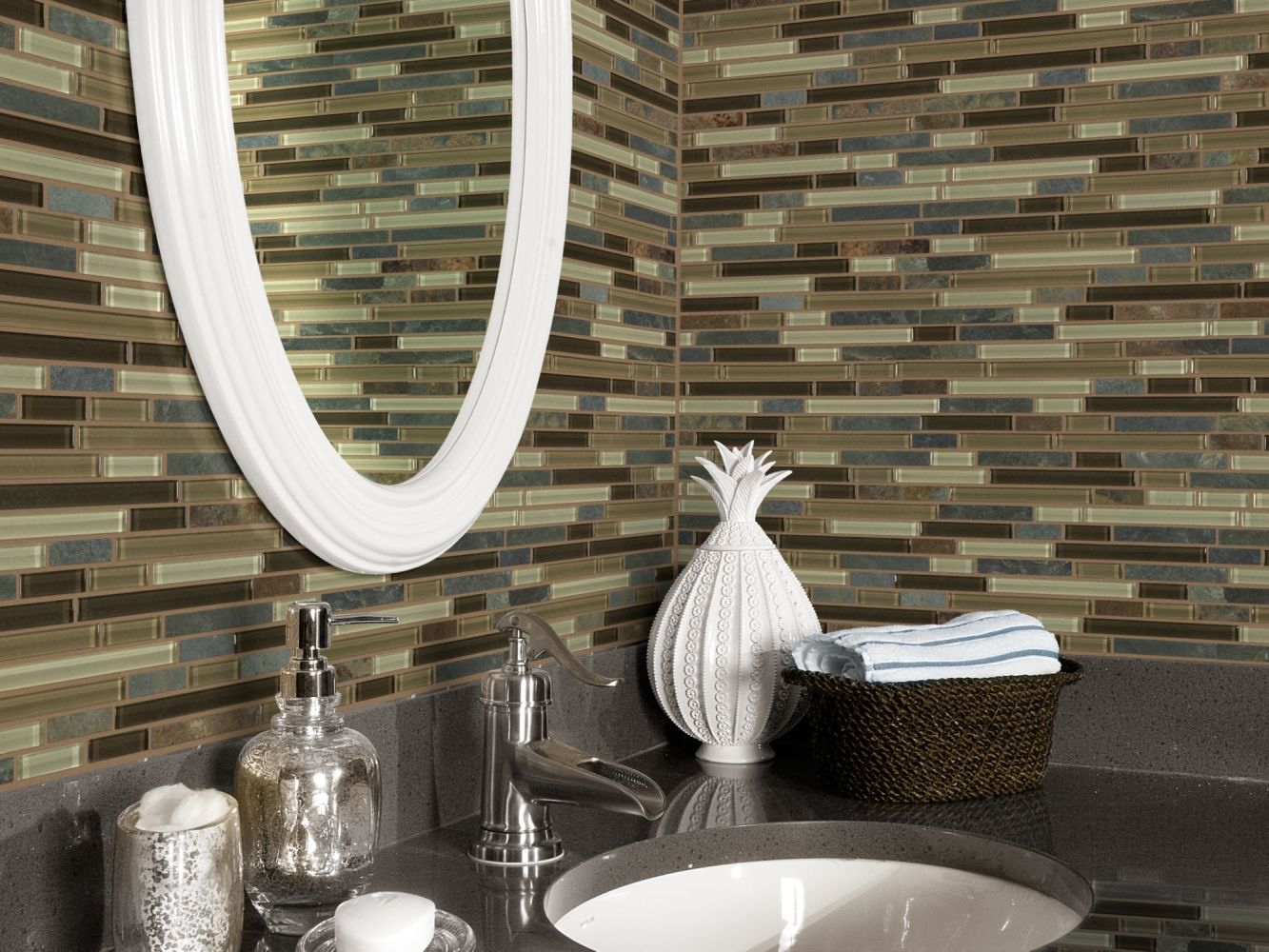 Shaw Floors SFA Marvelous Mix Linear Mosaic Amber Tea 00427_SA987