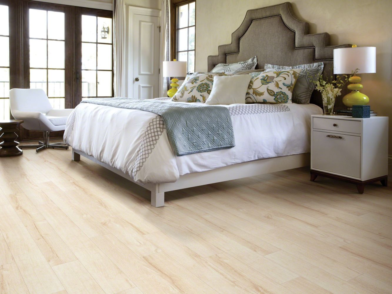 Shaw Floors Versalock Laminate Boulevard Crisp Linen 00302_SL082