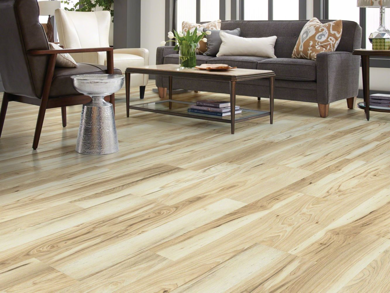 Shaw Floors Versalock Laminate Classic Designs Starlight Hckry 01016_SL110