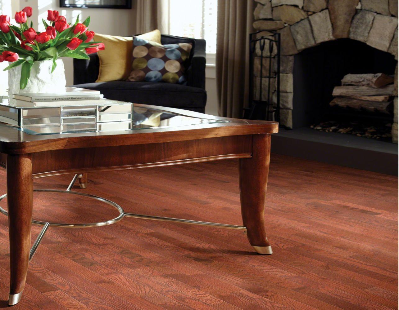 Shaw Floors Oak Solid Golden Opportunity 2 1/4″ 4s Cherry 00947_SW442