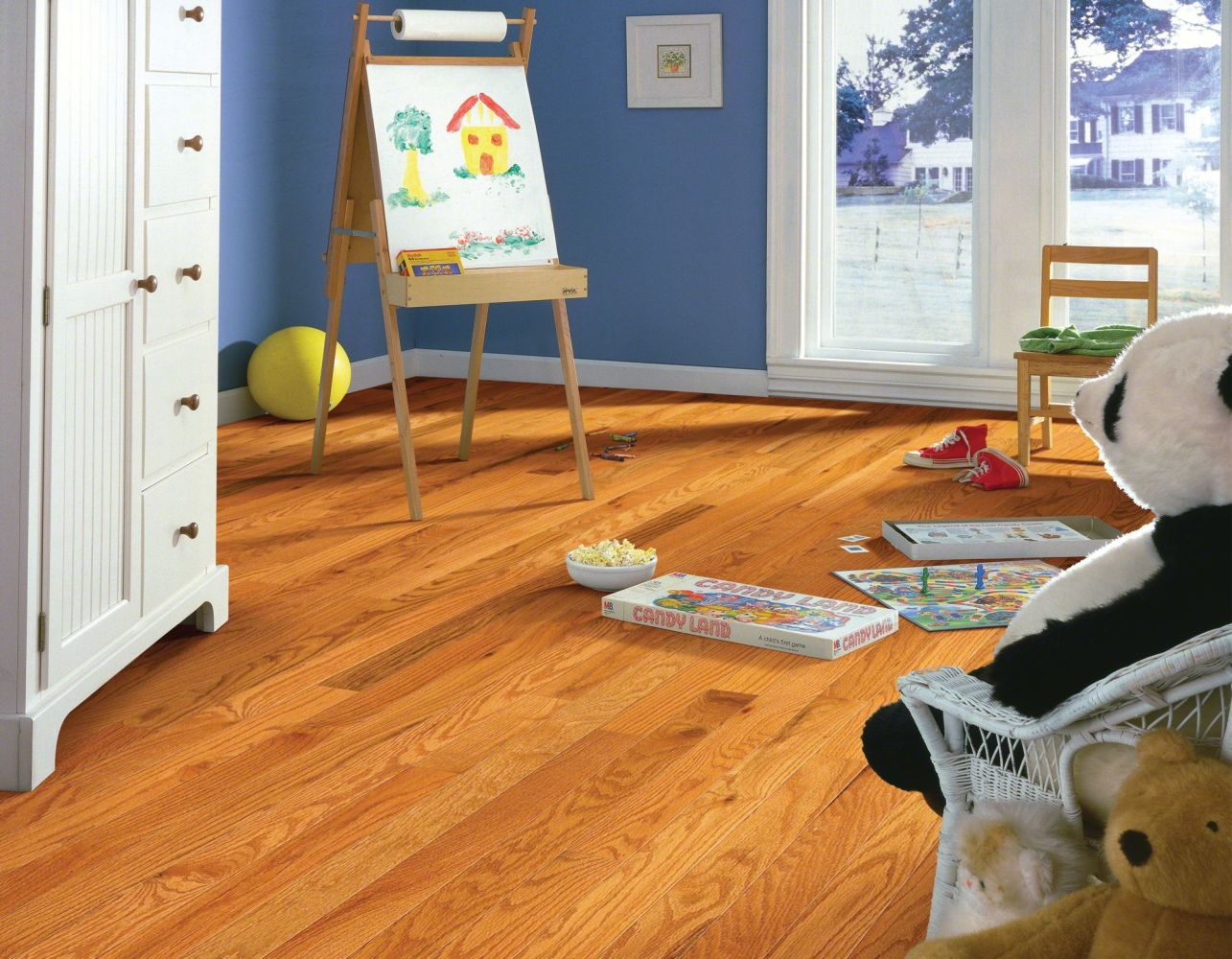 Shaw Floors Oak Solid Golden Opportunity 3 1/4″ 4s Butterscotch 00602_SW443