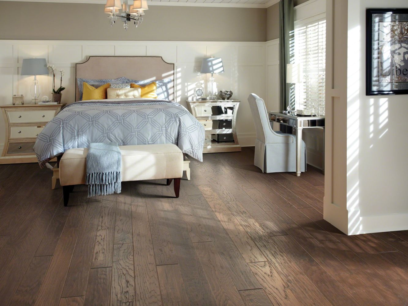Shaw Floors Shaw Hardwoods Sequoia Hickory 5 Three Rivers 00941_SW539