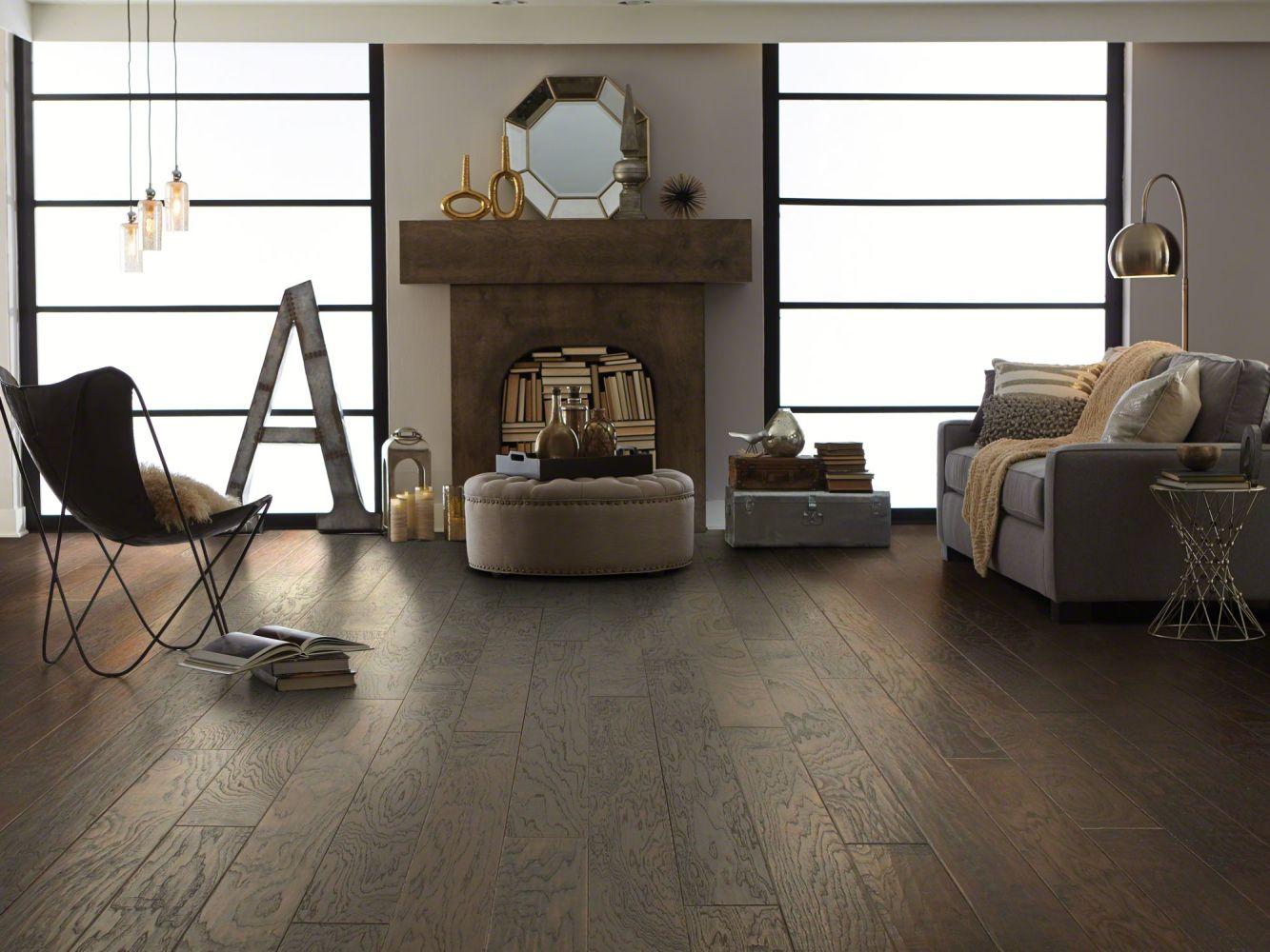 Shaw Floors Shaw Hardwoods Sequoia Hickory 5 Bearpaw 09000_SW539