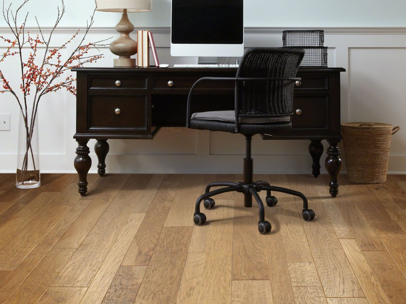 Shaw Floors Shaw Hardwoods Sequoia Hickory Mixed Width Bravo 02002_SW546