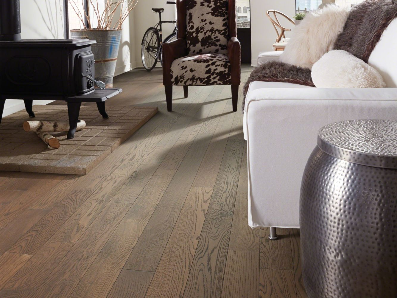 Shaw Floors Shaw Hardwoods Empire Oak Plank Rockefeller 09008_SW583