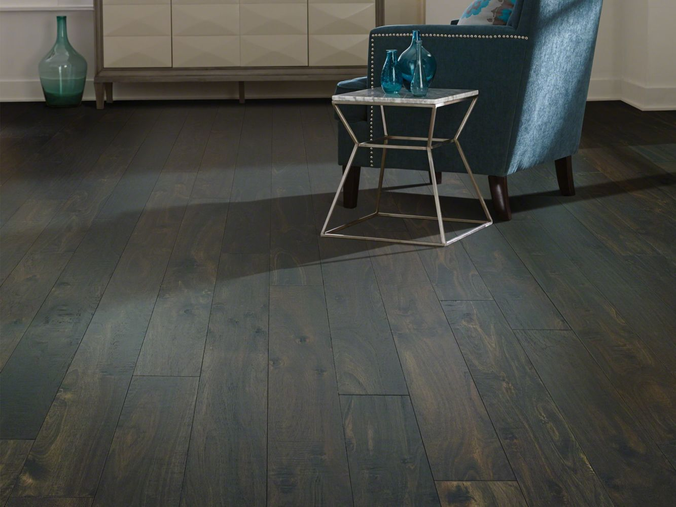 Shaw Floors Shaw Hardwoods Acacia Midnight 09021_SW667