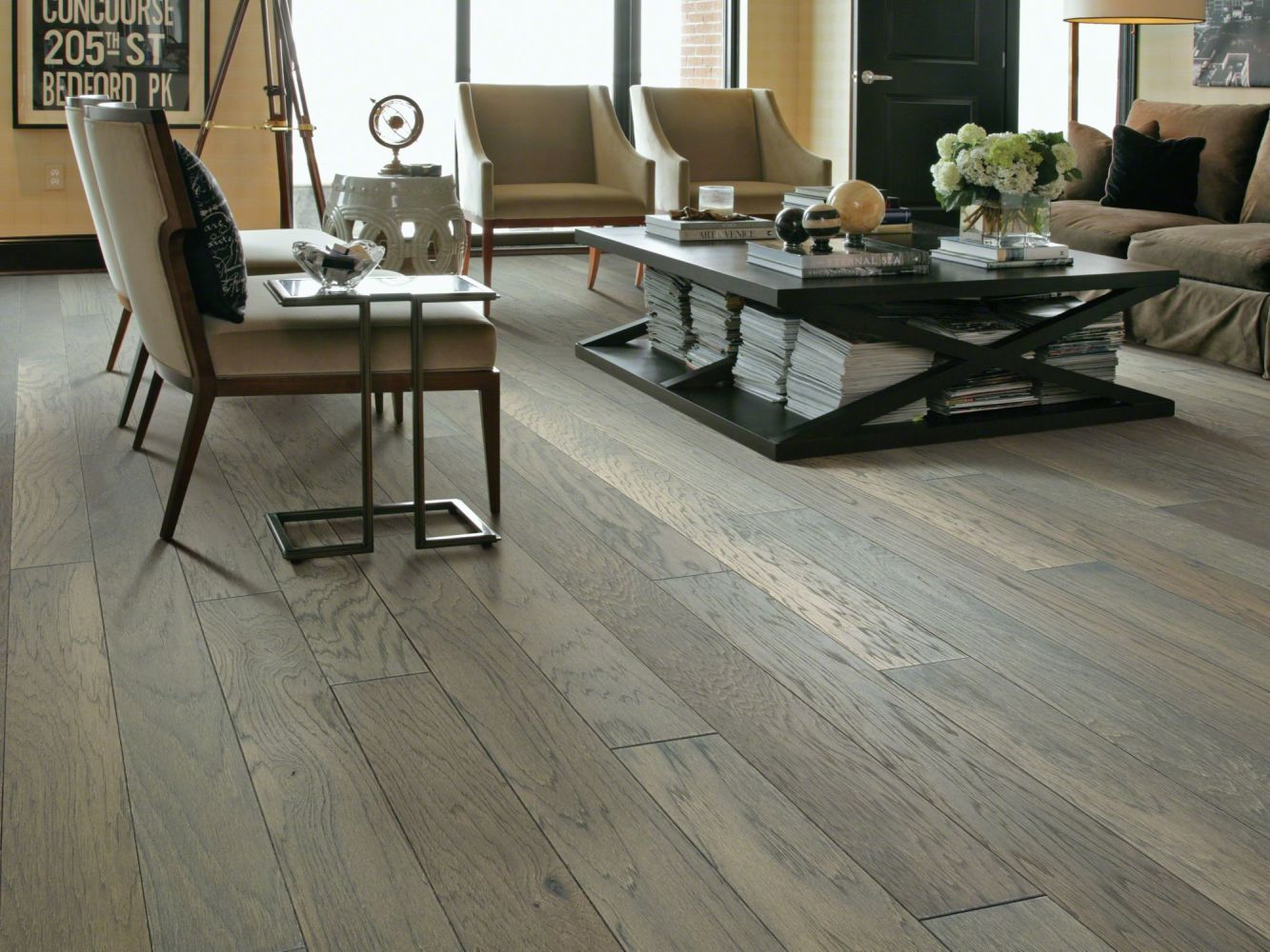 Shaw Floors Shaw Hardwoods Northington Brushed Greystone 05054_SW670