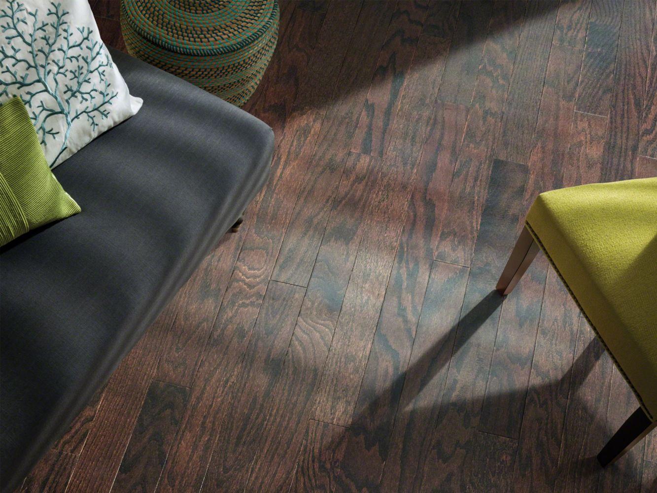 Shaw Floors Shaw Hardwoods Sonata 5 Coffee Bean 00938_SW675
