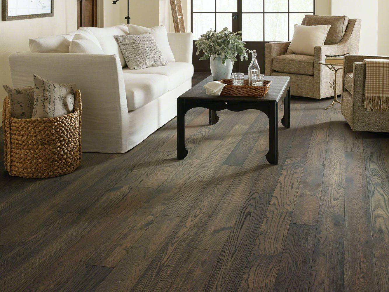 Shaw Floors Shaw Hardwoods Cornerstone Oak Granite 07044_SW676