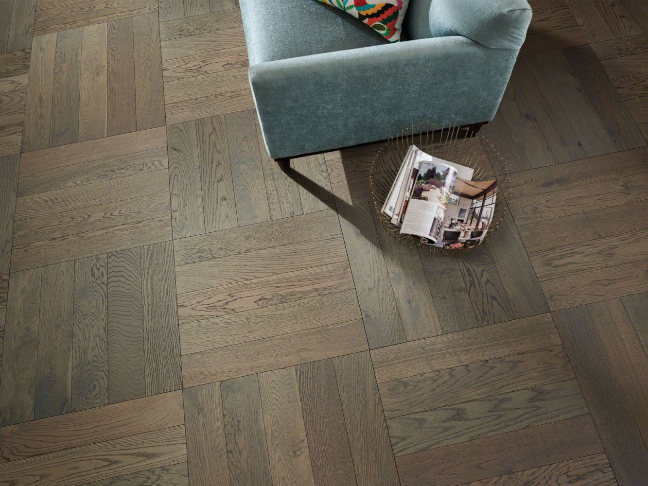 Shaw Floors Shaw Hardwoods Empire Oak Herringbone Morgan 07024_SW706