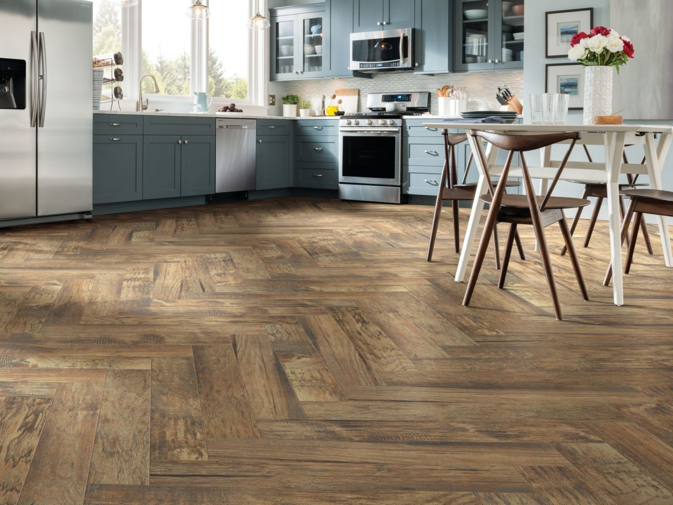 Shaw Floors Home Fn Gold Ceramic Plantation 6×24 Pecan 00750_TG42A