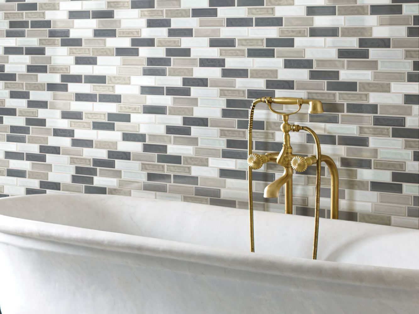 Shaw Floors Home Fn Gold Ceramic Geoscapes Random Linear Warm Blend 00520_TG45C