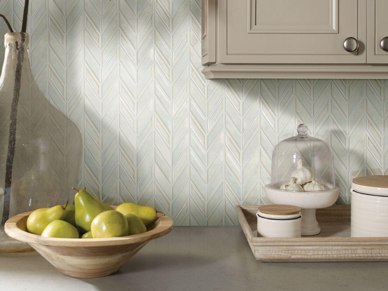 Shaw Floors Home Fn Gold Ceramic Geoscapes Chevron Bone 00150_TG46C