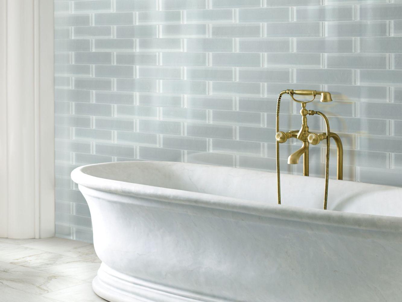 Shaw Floors Home Fn Gold Ceramic Principal 3×12 Glass Tile 2 Shadow 00550_TG74B