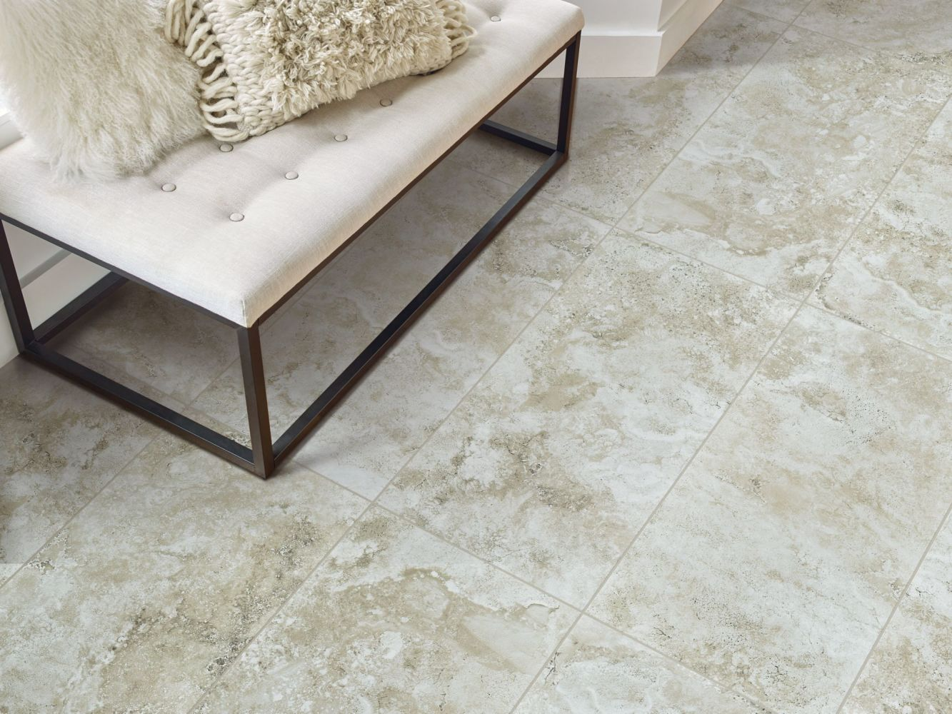 Shaw Floors Home Fn Gold Ceramic Cassio 17×17 Beige 00200_TG93D
