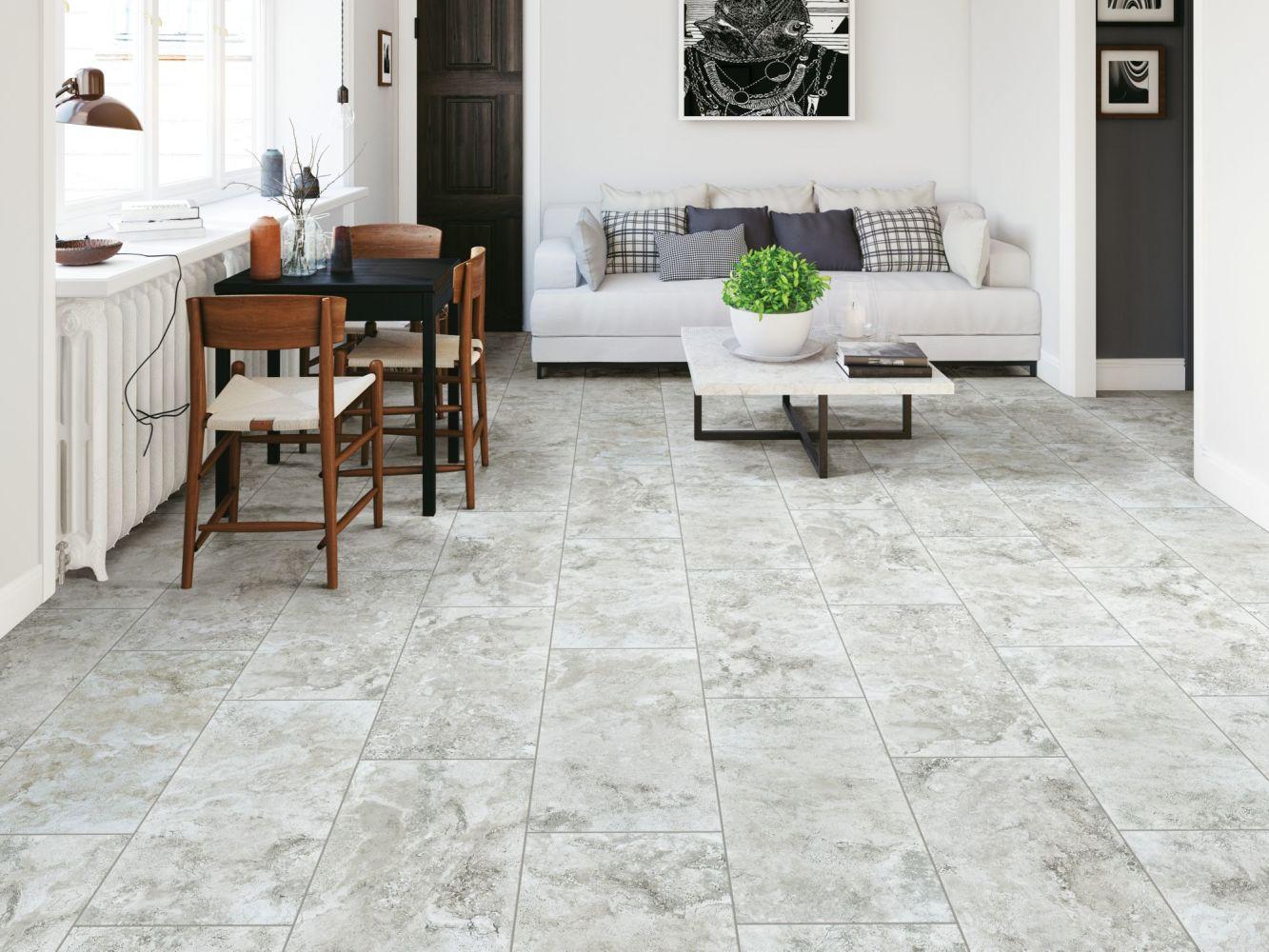 Shaw Floors Home Fn Gold Ceramic Cassio 17×17 Grey 00500_TG93D