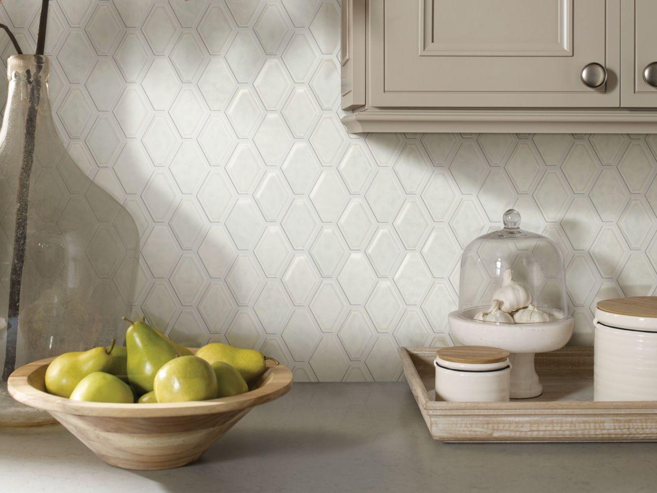 Shaw Floors Home Fn Gold Ceramic Geoscapes Diamond Bone 00150_TGJ79