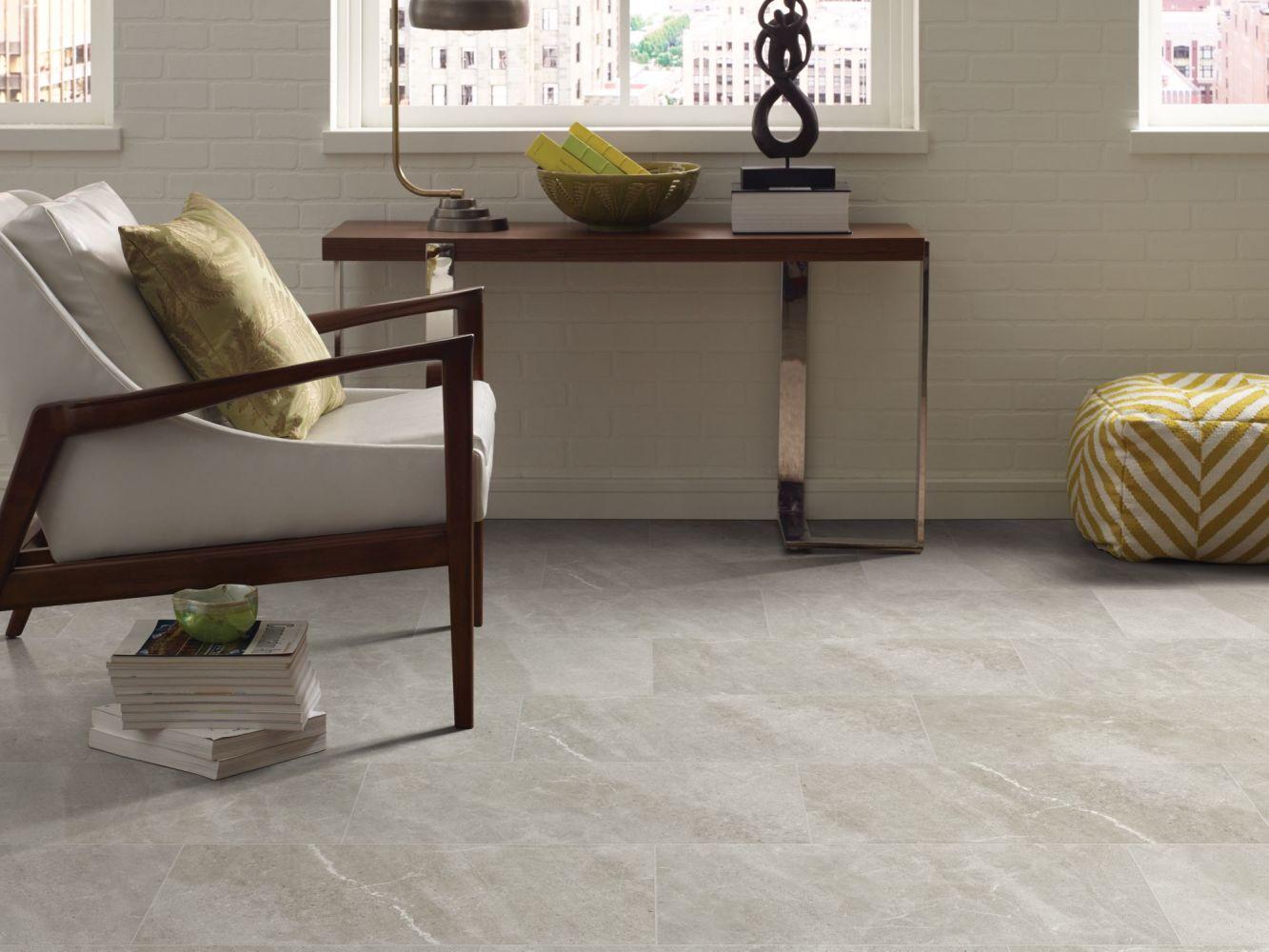 Shaw Floors Home Fn Gold Ceramic Serenity 17 Light Grey 00500_TGJ89