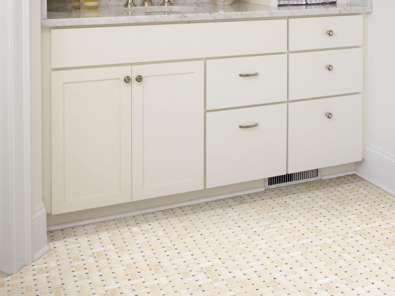 Shaw Floors Home Fn Gold Ceramic Del Ray Basketweave Mosaic Point Break 00257_TGL27