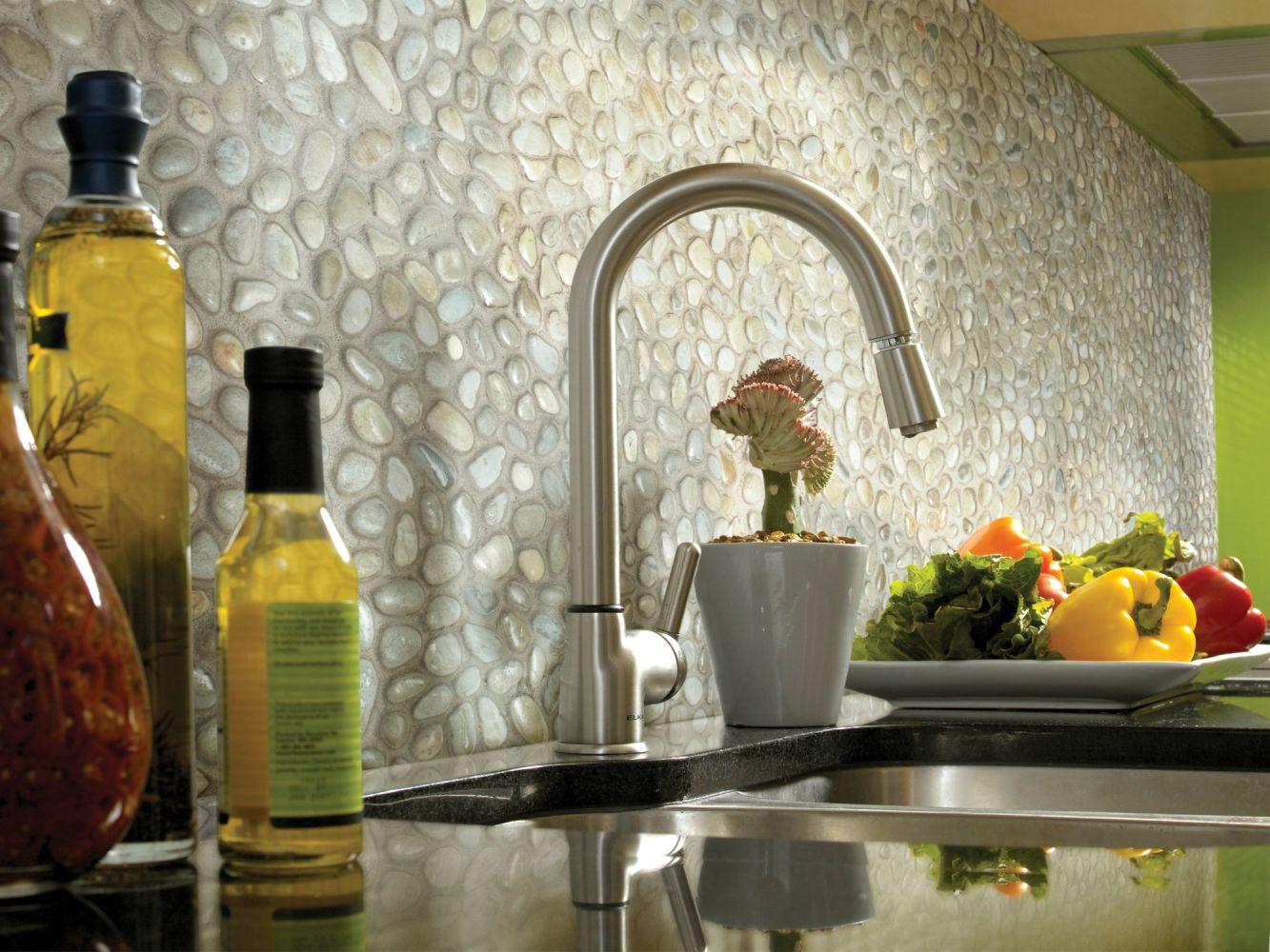 Shaw Floors Home Fn Gold Ceramic River Rock Honed Pearl White 00100_TGL65