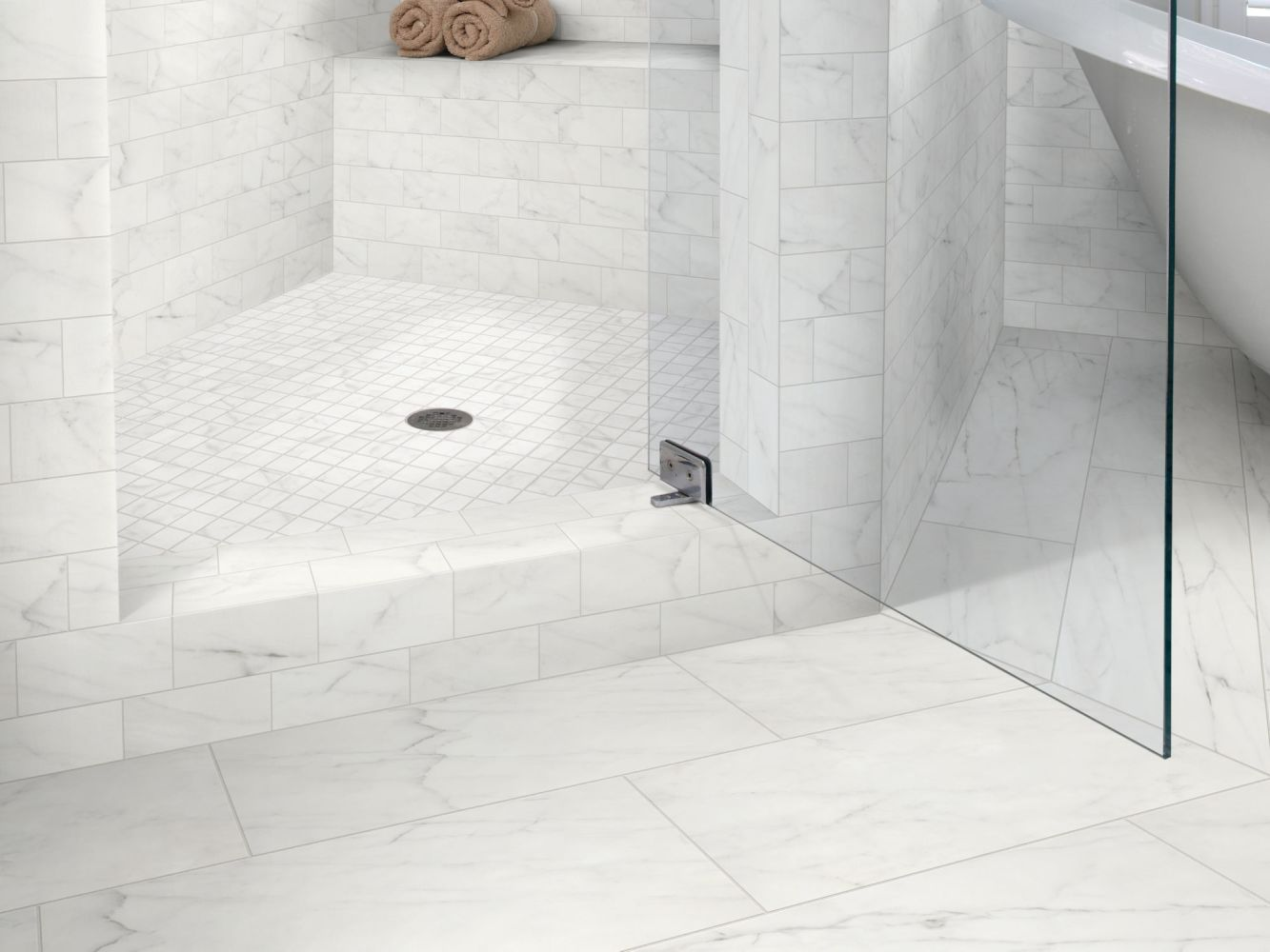 Shaw Floors Home Fn Gold Ceramic Caracalla Sbn Carrara 00150_TGM48