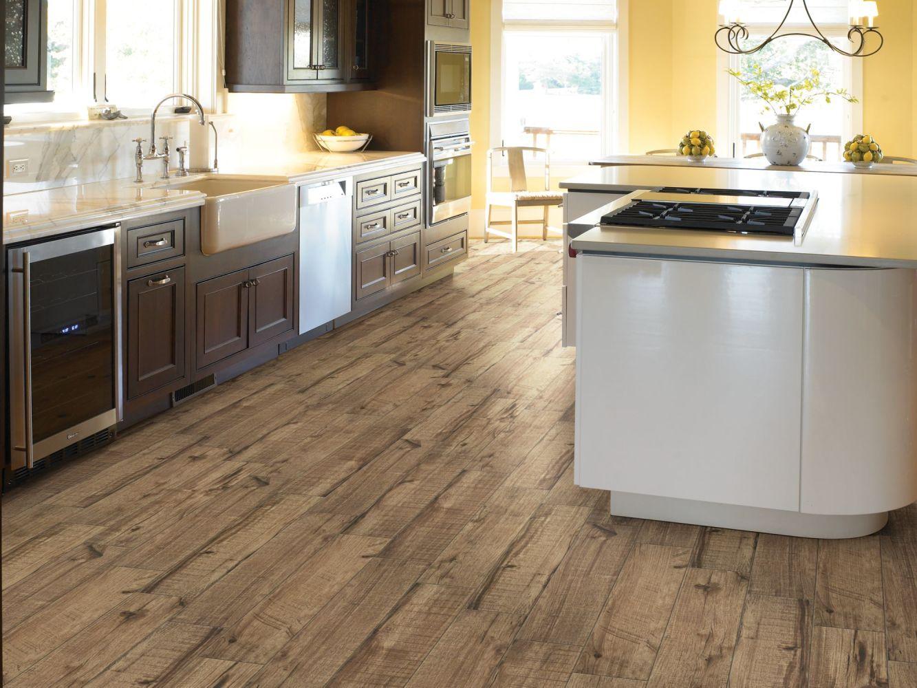 Shaw Floors Home Fn Gold Ceramic Denali 6×36 Pecan 00750_TGM80